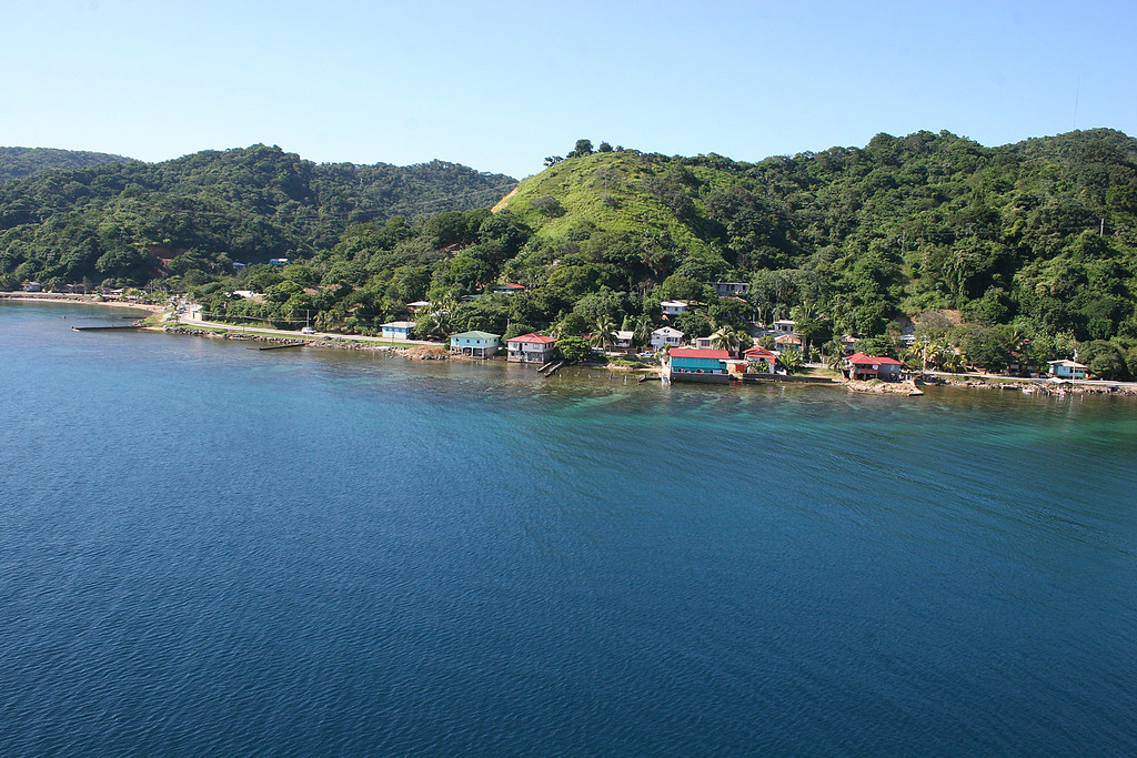 Roatan from the ship