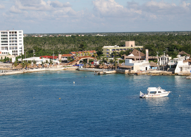 Cozumel from the ship