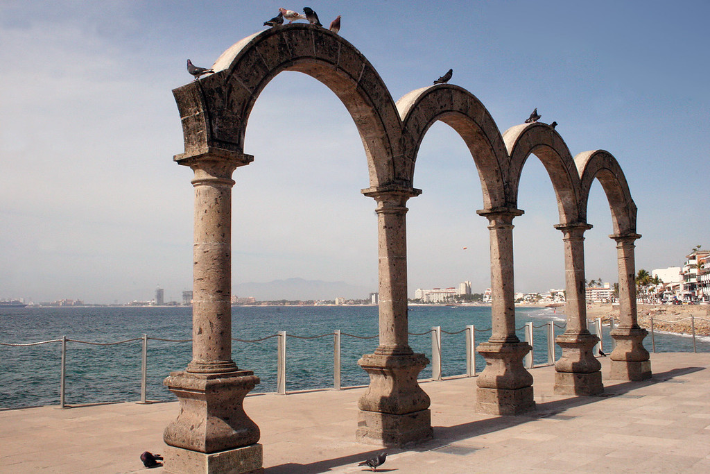 Arches along Malecon