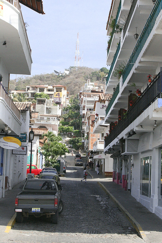 Street of Puerto Vallarta