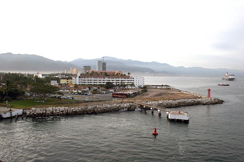 Coming into Puerto Vallarta