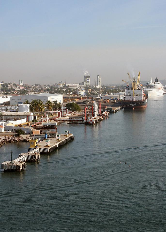 Port in Mazatlan