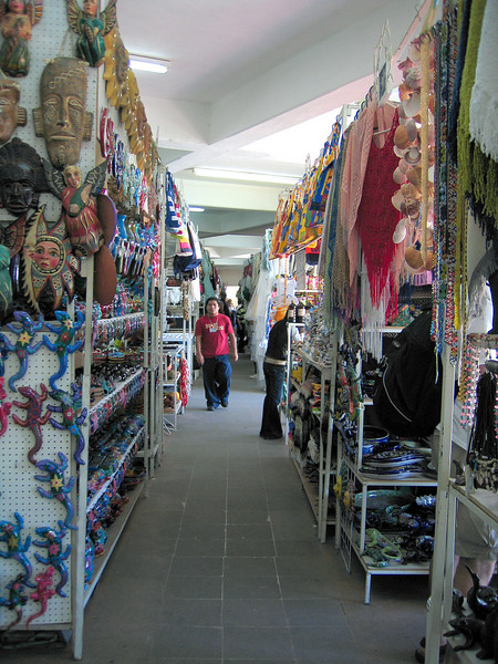 In one of the shops in Cabo San Lucas
