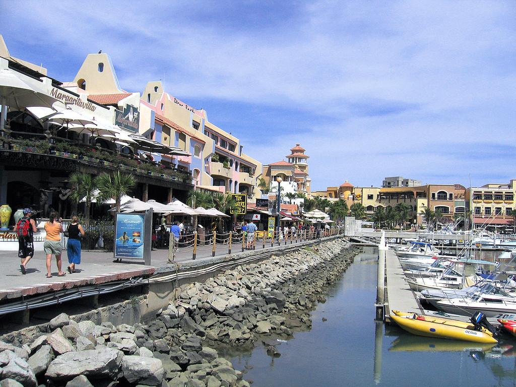 Around the Cabo San Lucas harbor