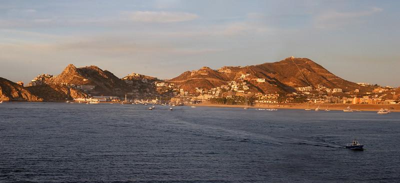Coming into Cabo San Lucas