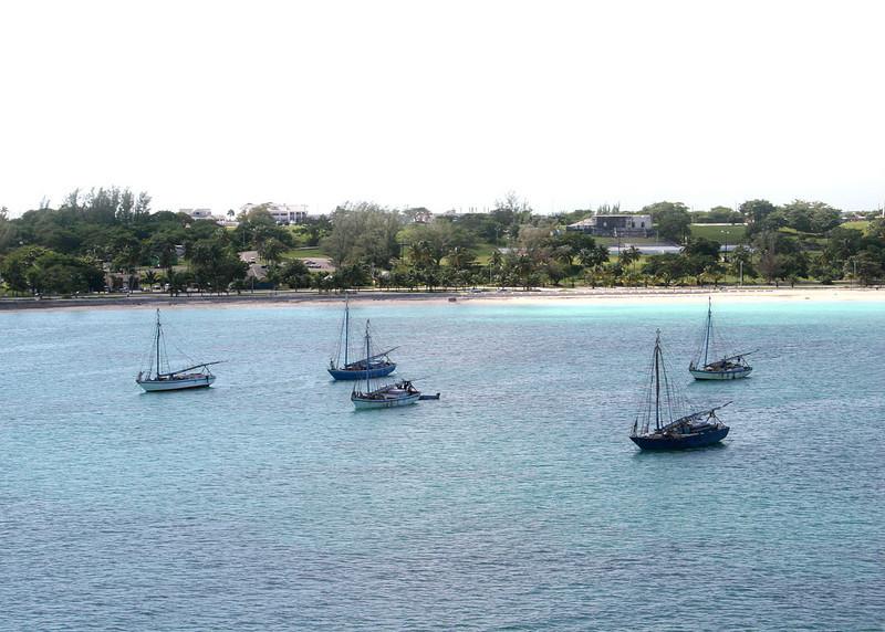 Coming into Nassau