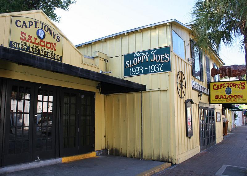 Capt. Tony's Saloon, one of many establishments in Key West.