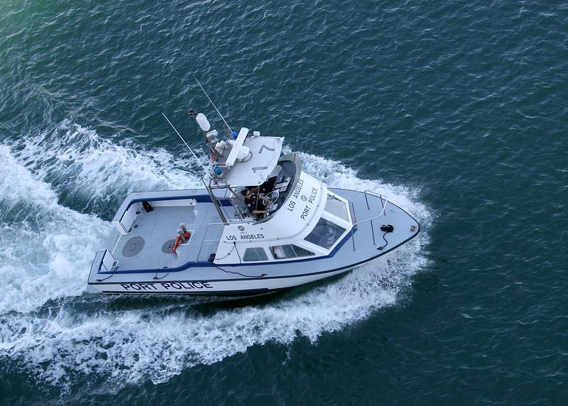 The Pilot boat in San Pedro, CA harbor