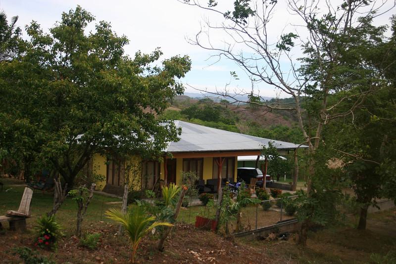 House along our tour