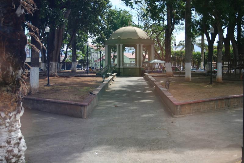 Gazebo in Esparaza