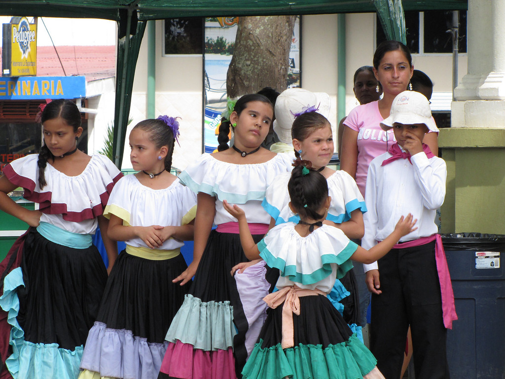 Some of the dancers