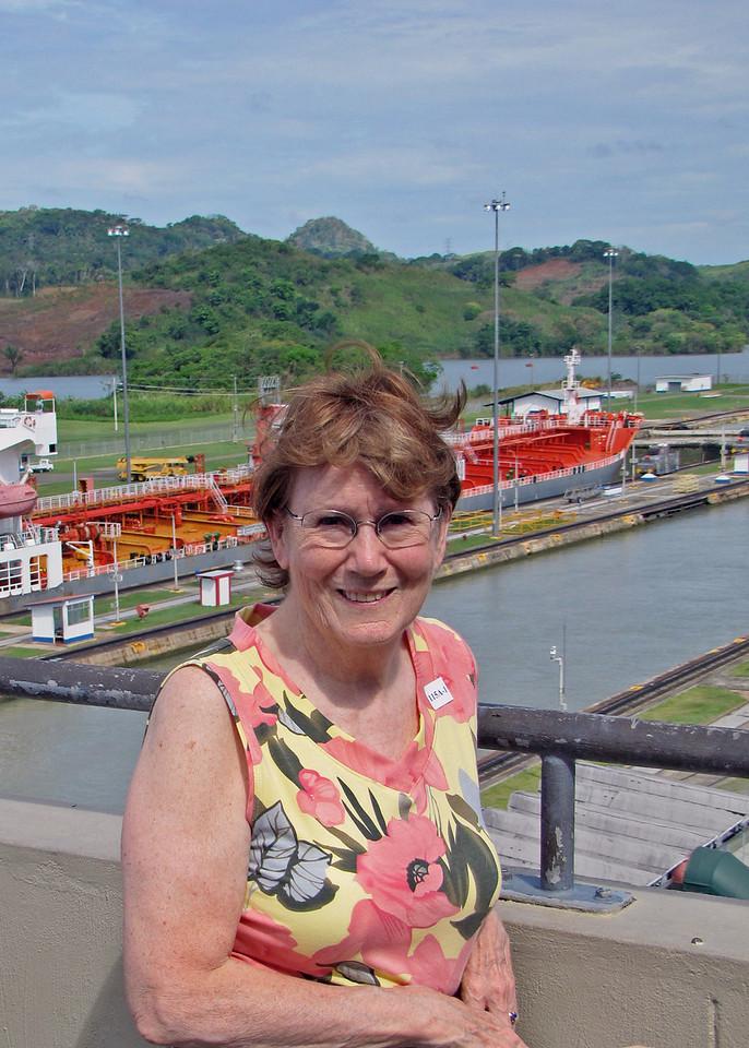 Susan at Mira Flores Locks