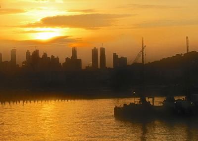 4/16/10 - Panama Cruise - Panama Canal Transit