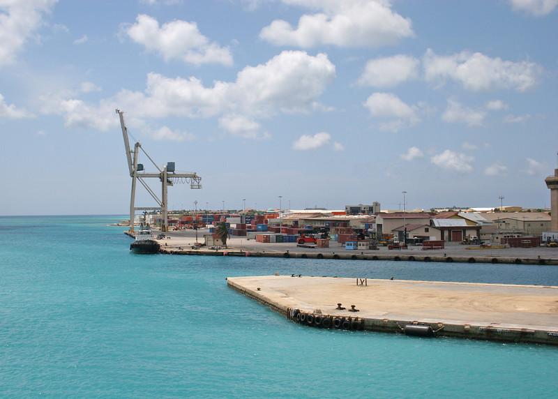 Aruba dock