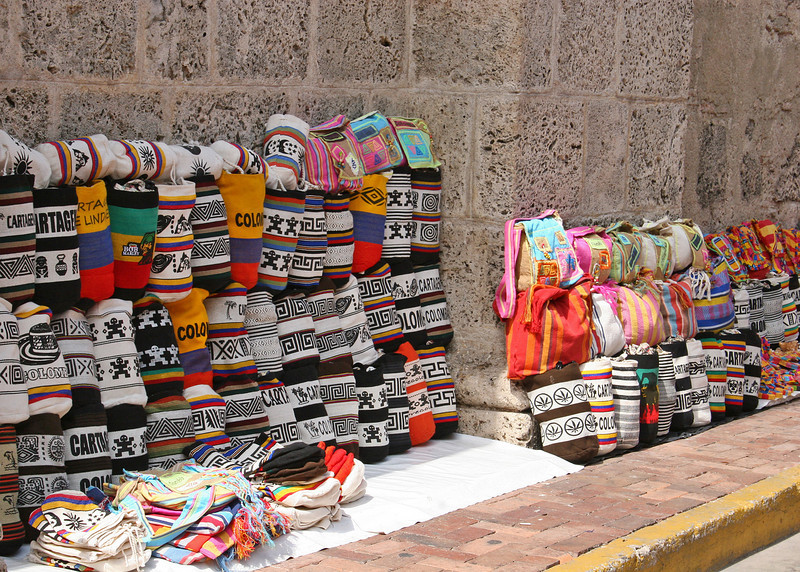 Vendor on sidewalk