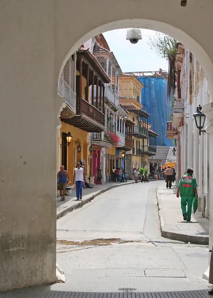 Another narrow street