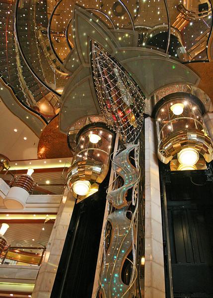 Elevator in lobby
