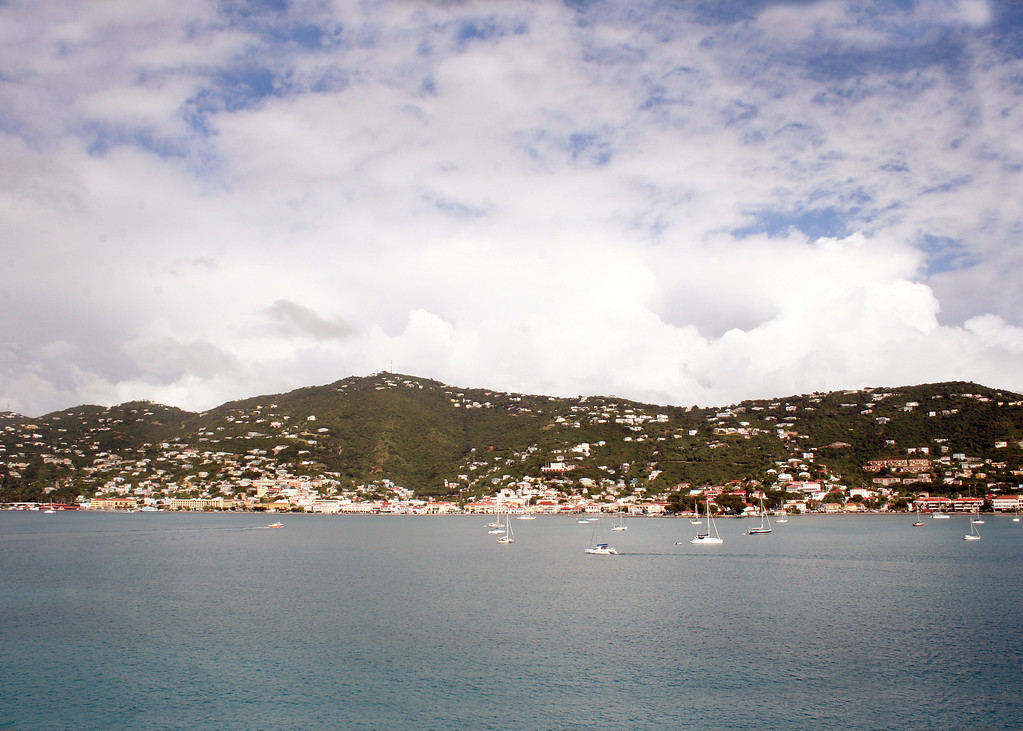 Coming Into St. Thomas