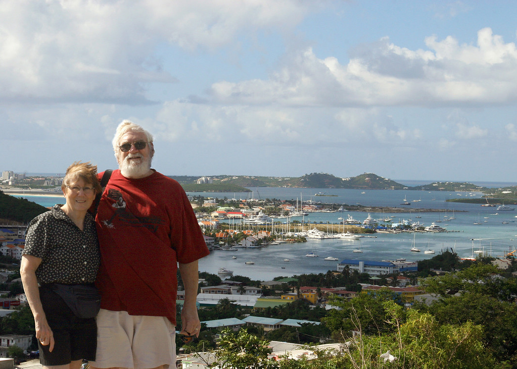 Susan and Mike at International Point