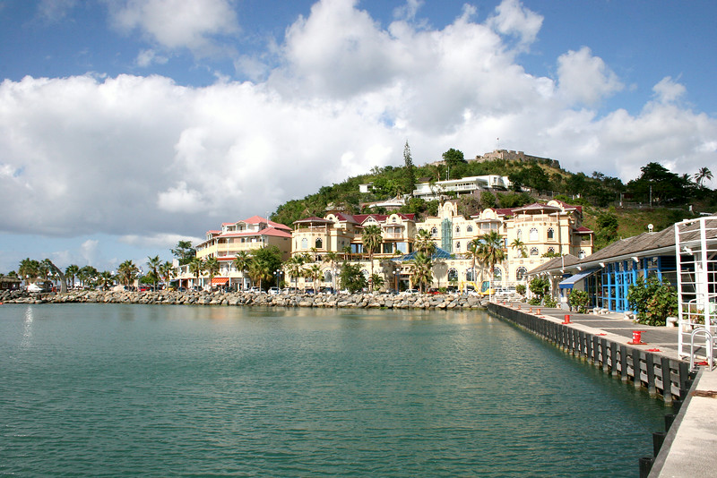 Marigot is the main town and capital on the French side