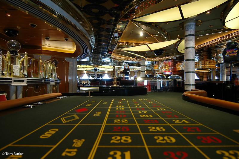 Casino and bar.