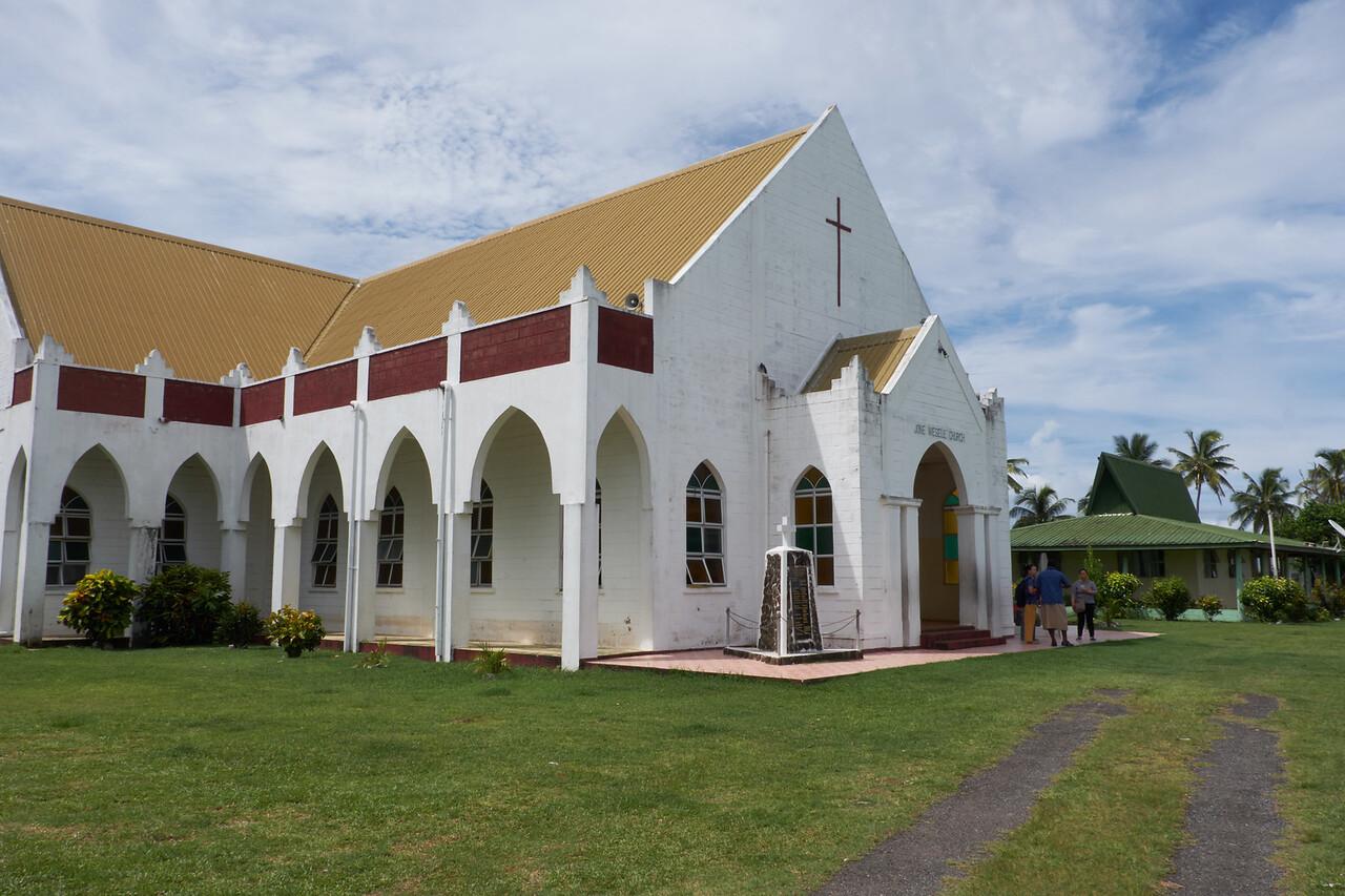 The Viseisei Village church.