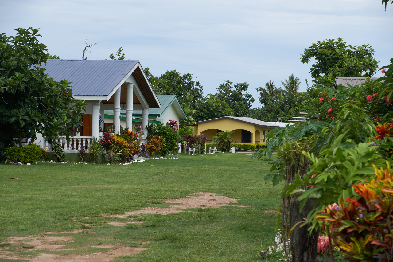 Some of the more upscale Viseisei Village houses.