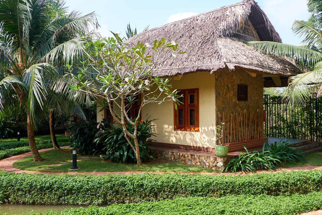 My guest house at The Island Lodge.