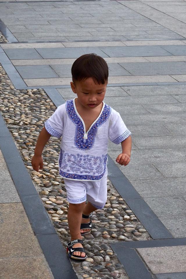 Runaway child.