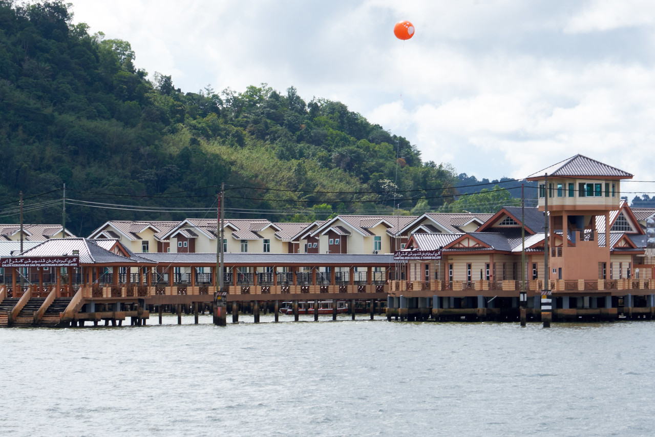 At one time Kampong Ayer was Brunei's major port area.