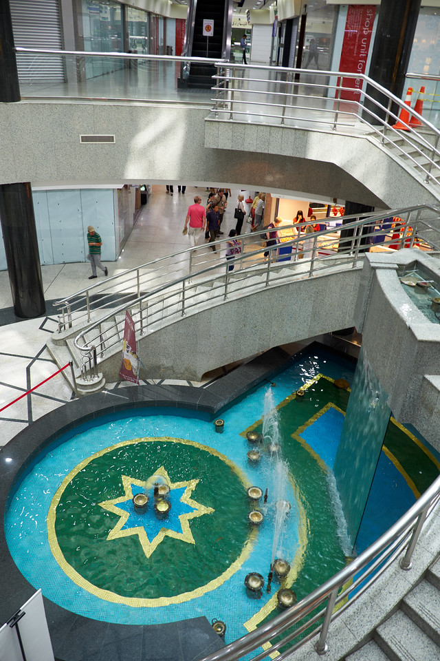 Interior of Yayason Shopping Complex.