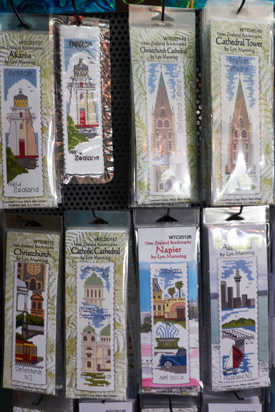 Saw these and was reminded of my mother. She made small needlepoint pictueres of every place she traveled. These happen to be bookmarks which she also collected in her travels.