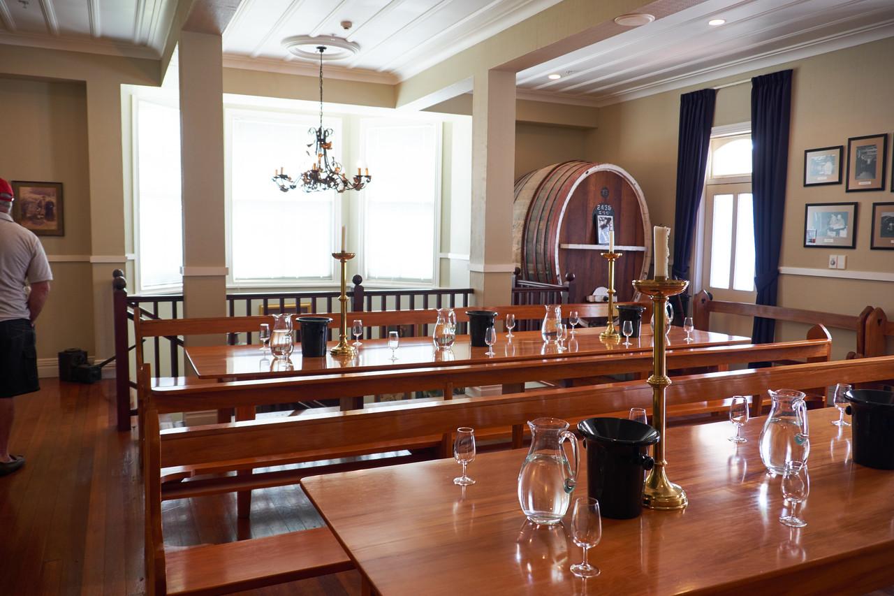 Mission Estates tasting room.