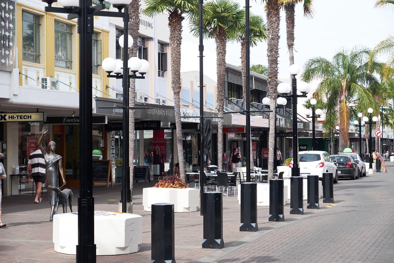 Napier shopping street.