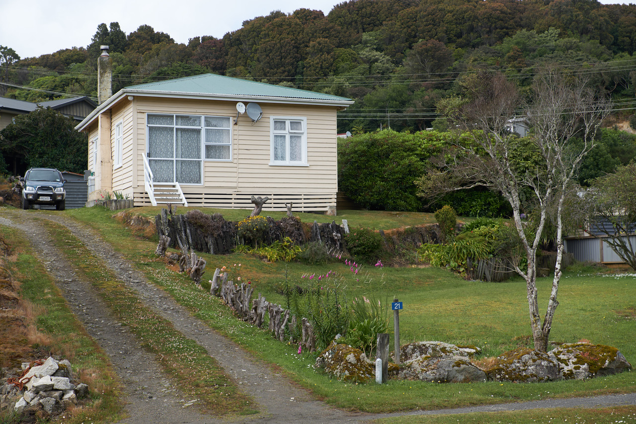 Example of Stewart Island housing.