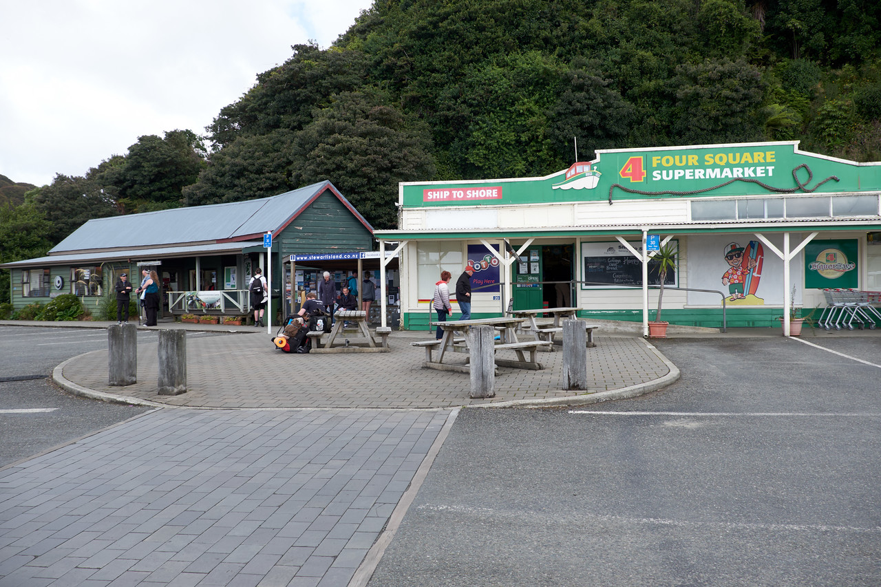 The Supermarket.