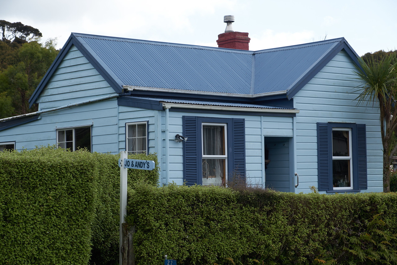 A Stewart Island vacation cottage.