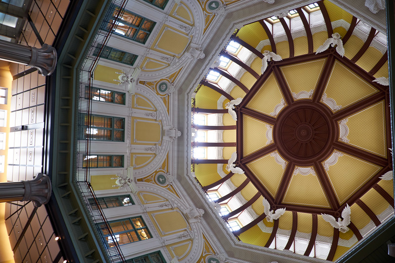 Ceiling in Tokyo Station.