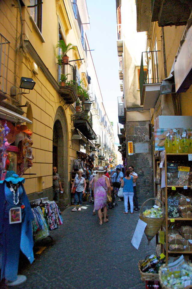 Pedestrian Shopping Area of Sorrento