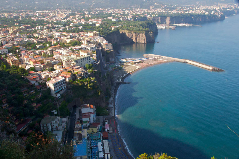 One of Hundreds of Beach Areas on Amalfi Coast