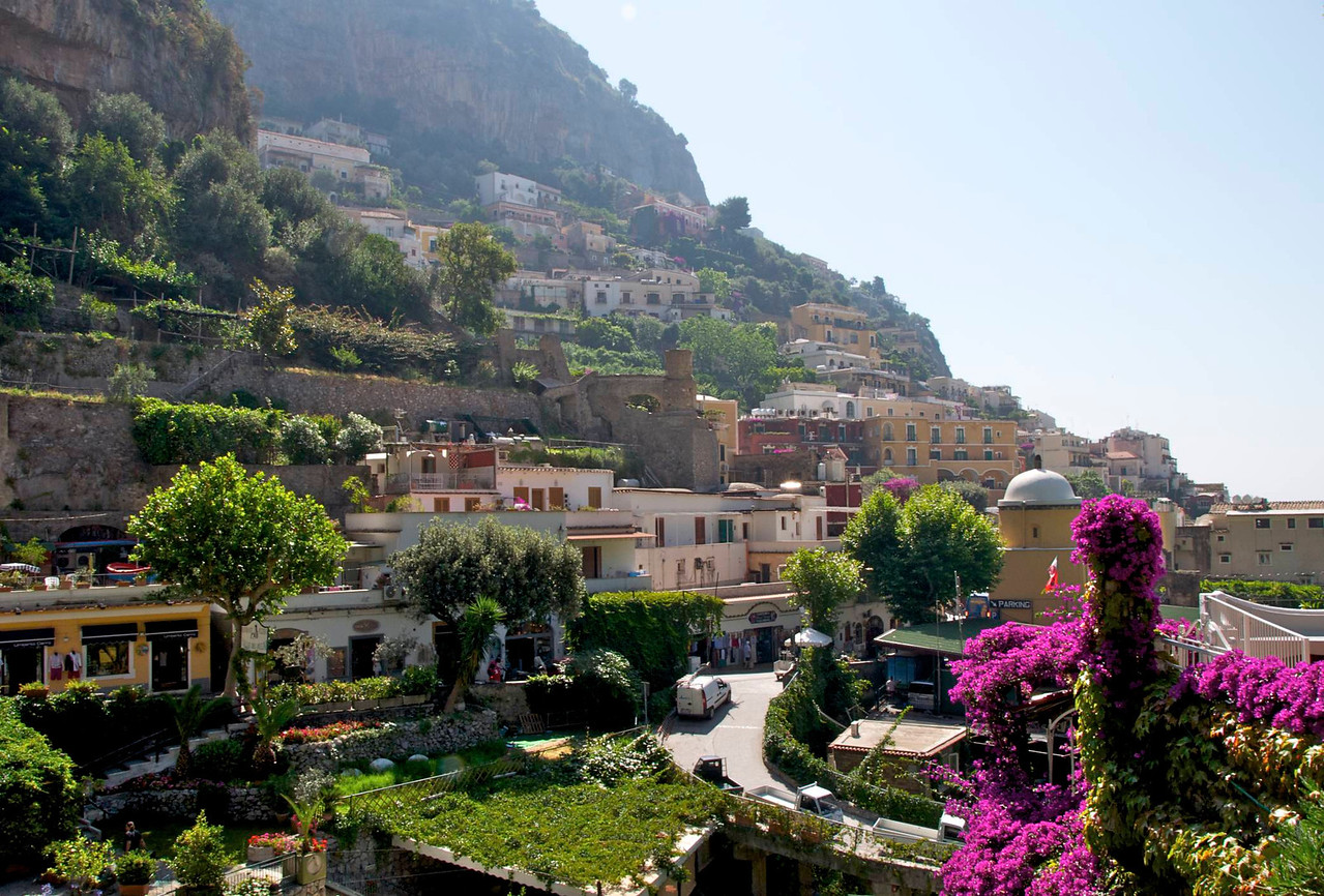 Looking Into Positano