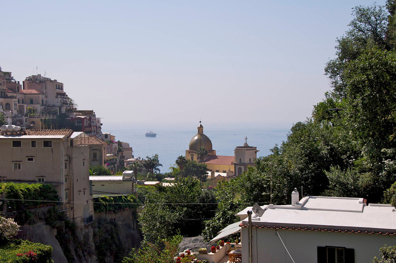View From Entrance of Positano