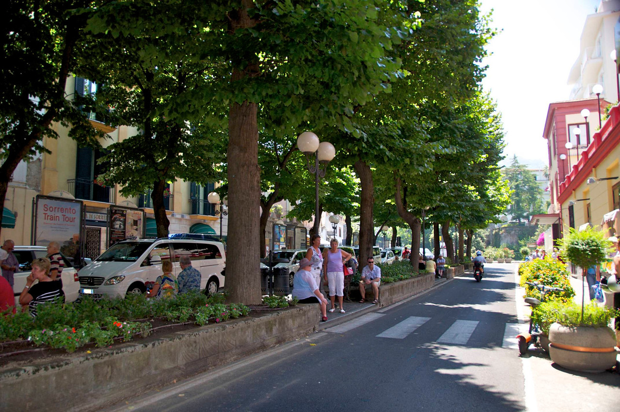 Typical Street of Sorrento