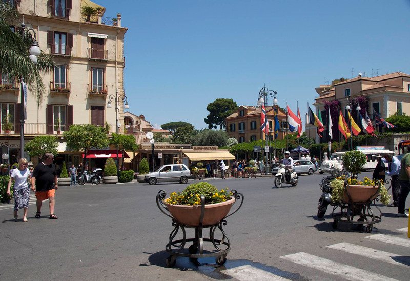 Main Square of Sorrento