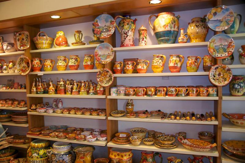 More Umberto Carro Pottery