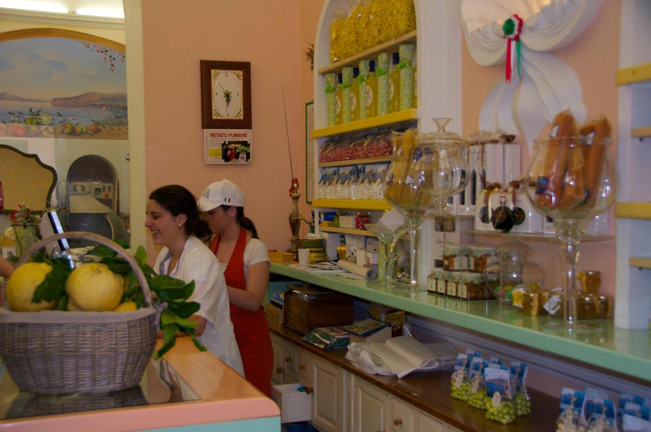 "Gourmet Shop Specializing in Everything ""Lemon"""
