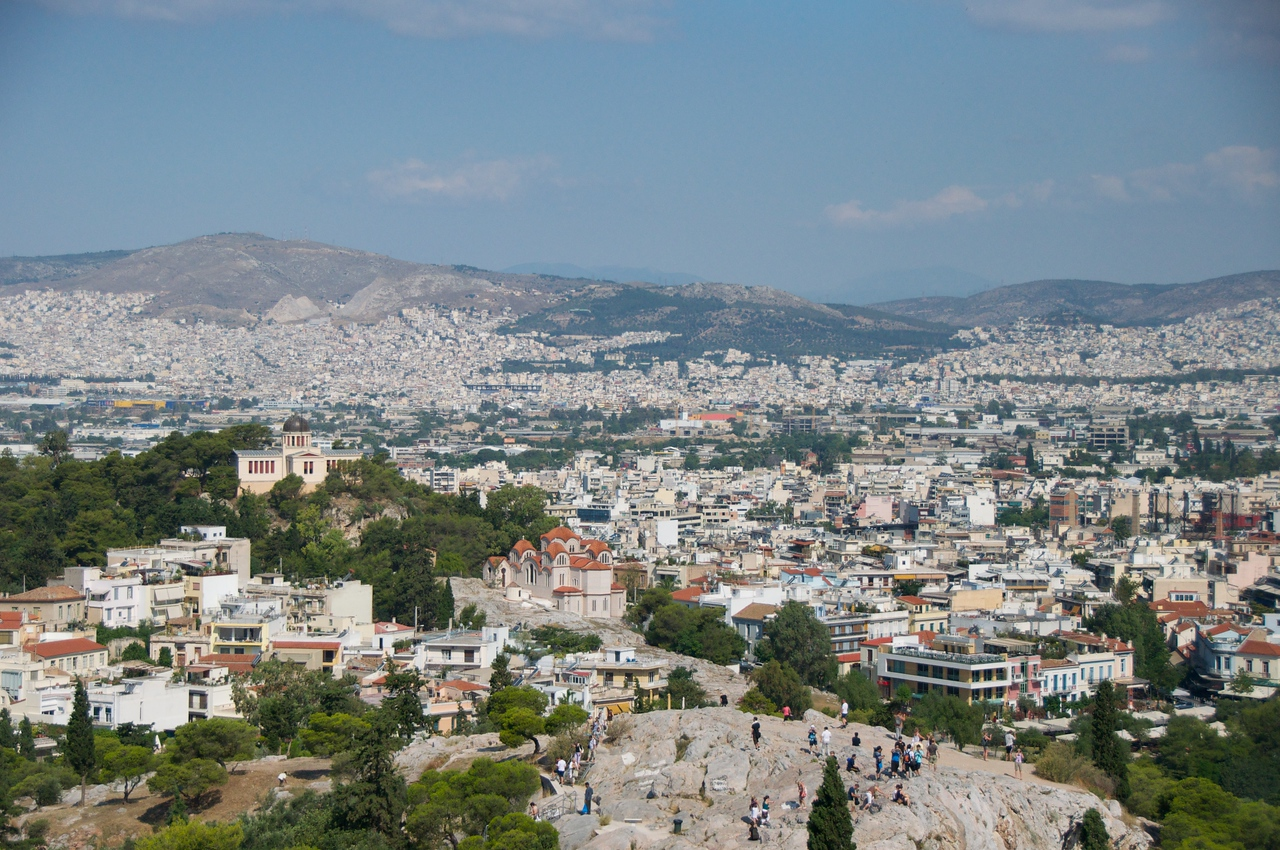 View of Athens from Top