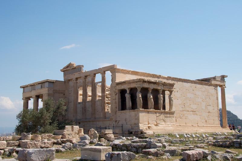 Temple of Neptune As You Enter Acropolis