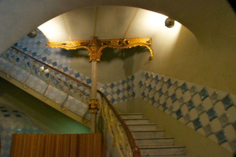 One of The Foyer Staircases
