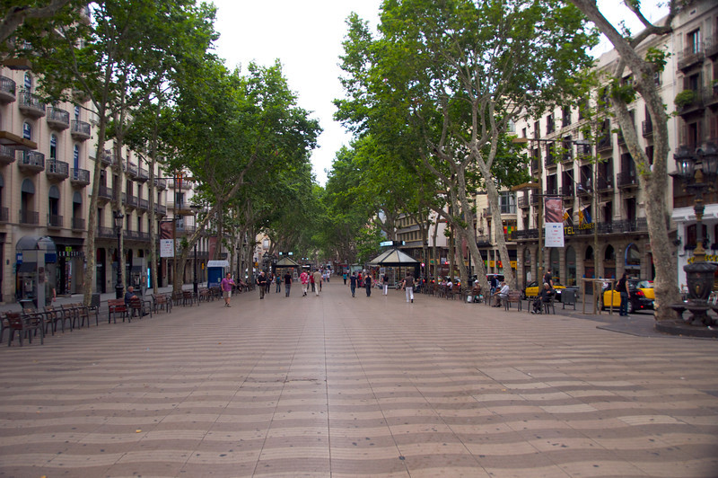 La Rambla Early Morning